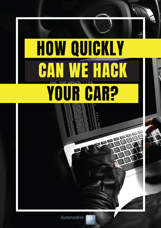 Report on How Quickly Can We Hack Your Car
