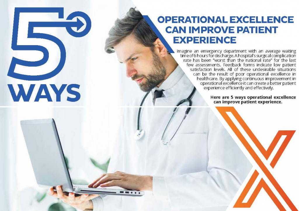 Read the Article - 5 Ways Operational Excellence Can Improve Patient Experience