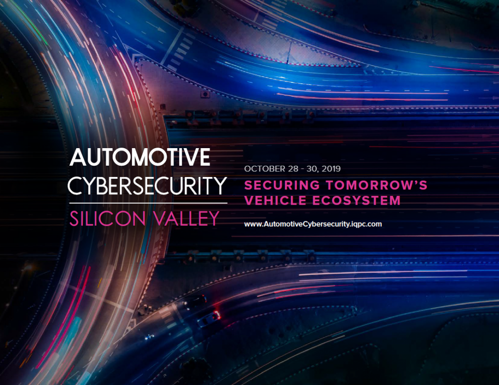 Automotive Cybersecurity Silicon Valley 2019 Agenda