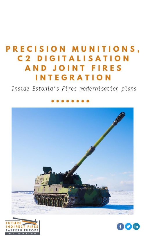Precision munitions, C2 digitalisation and Joint Fires integration: Inside Estonia's Fires modernisation plans