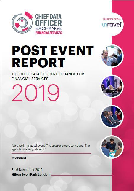 Chief Data Officer Exchange Financial Services - Post Event Report