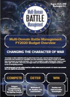 Multi-Domain Battle Management FY20 Budget Overview