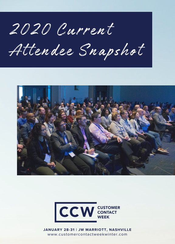 2020 Current Attendee Snapshot