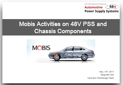 Activities on 48V PSS and Chassis Components