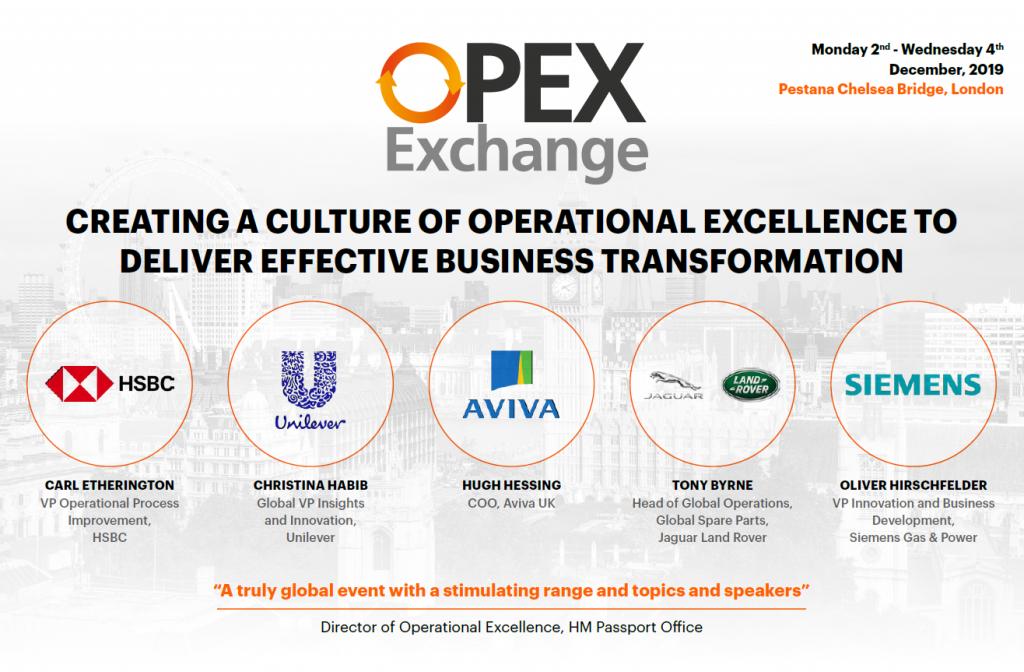 OPEX Exchange Agenda Europe 2019