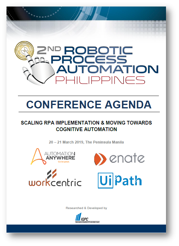 View Brochure - RPA Philippines Summit 2019