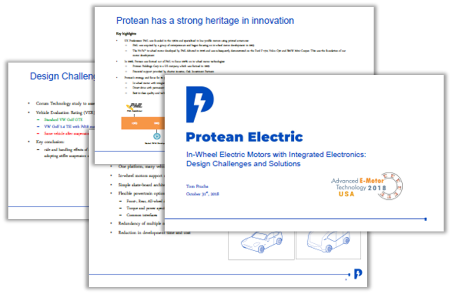 Protean Electric Presentation