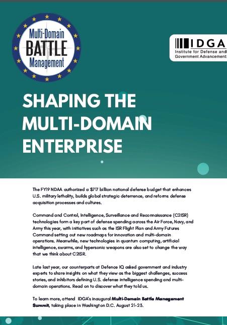 Shaping the Multi-Domain Enterprise