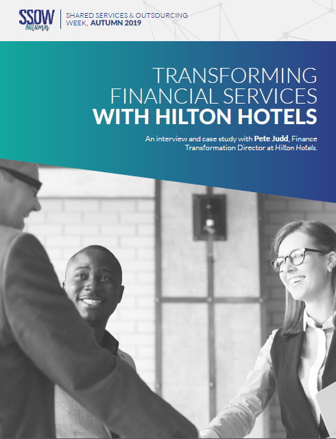 An interview with Pete Judd | Finance Transformation Director at Hilton Hotels