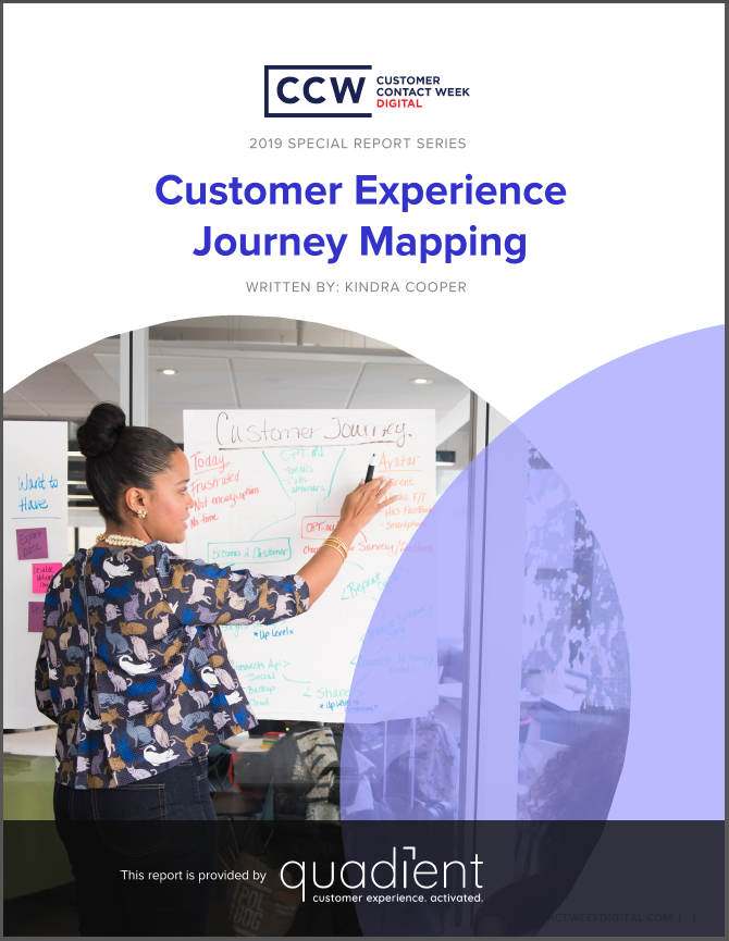 Special Report: Customer Experience Journey Mapping