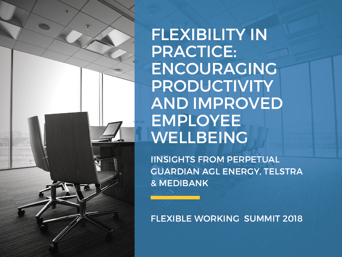 Encouraging Productivity and Improved Employee Wellbeing with Flexible Working