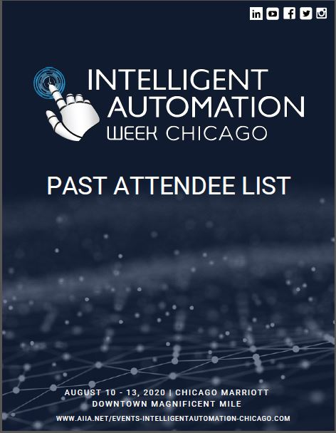 Past Attendee List for Solution Providers