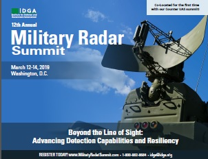 Download the Military Radar 2019 Onsite Agenda
