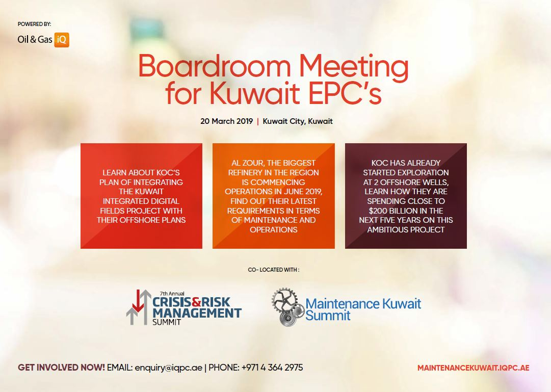 Boardroom Meeting for Kuwait EPC's