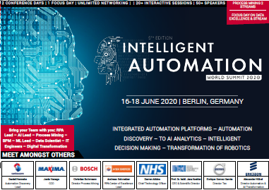 Partner Content - 5th Intelligent Automation World Summit Program Agenda. Get the Info!