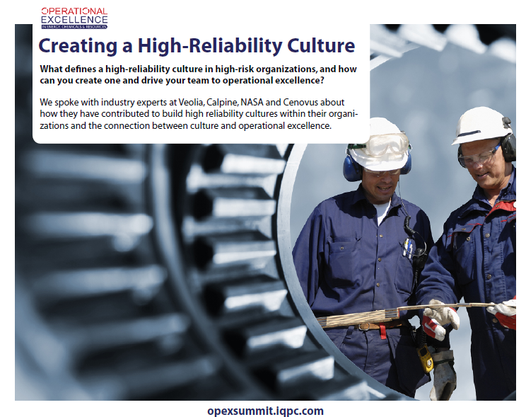 Creating a High-Reliability Culture