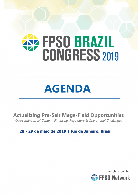 FPSO Brazil Congress Brochure - Portuguese