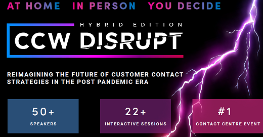CCW Disrupt 2021 Event Guide