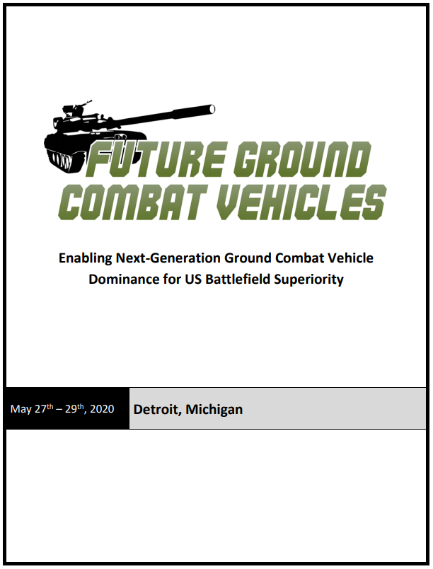 Future Ground Combat Vehicles 2020 Preliminary Agenda