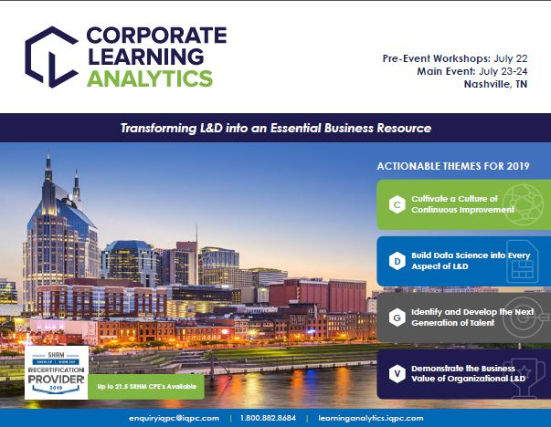 5th Corporate Learning Analytics Official Event Packet