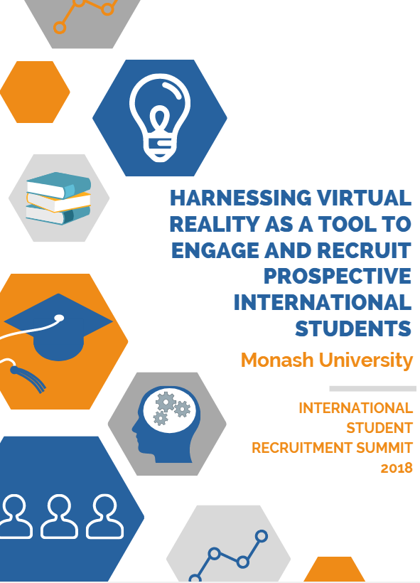 Monash University: Harnessing Virtual Reality as a tool to engage and recruit prospective international students