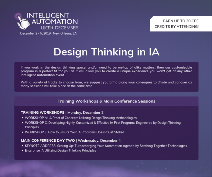 Design Thinking in IA Spotlight