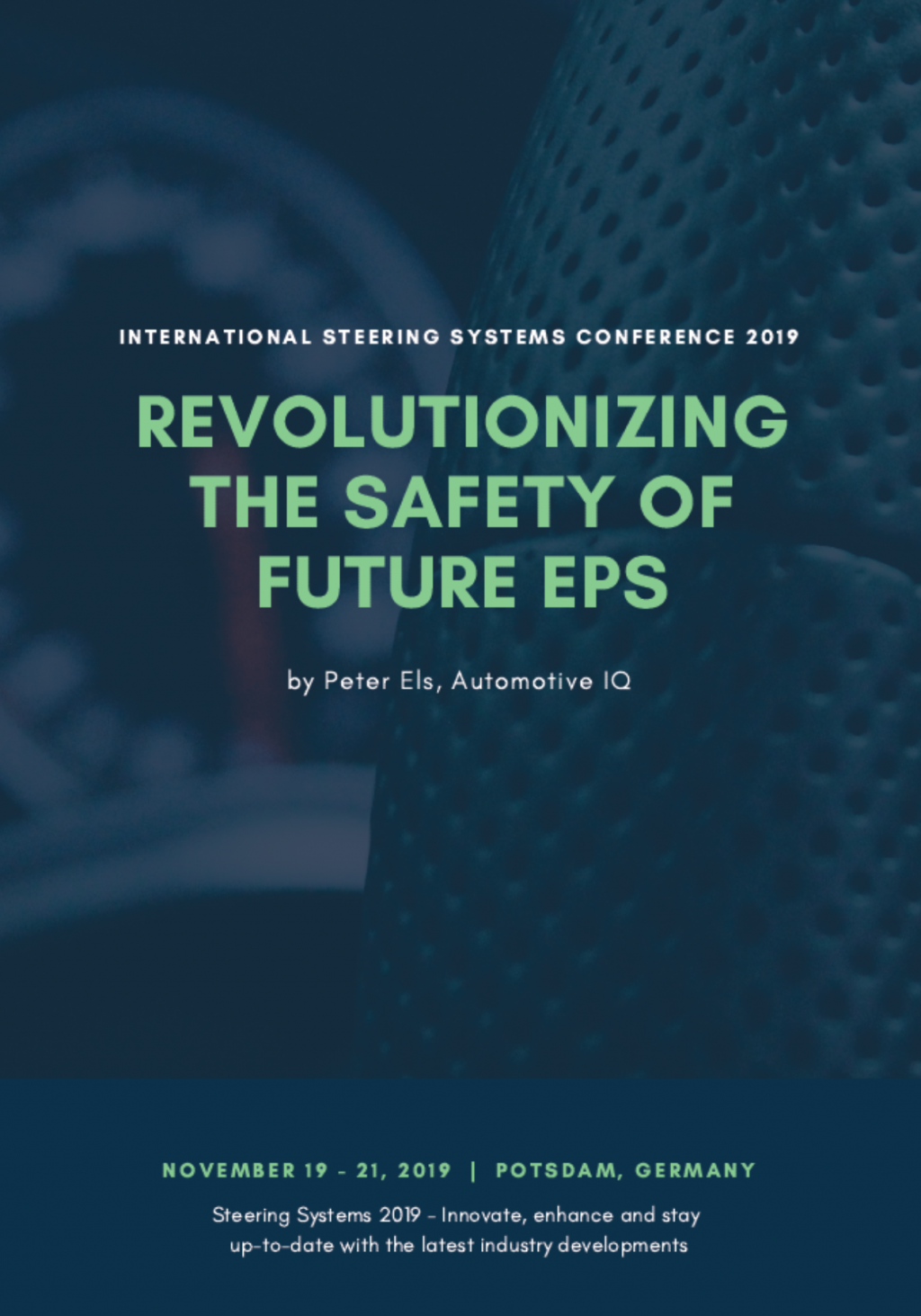 Report on Revolutionizing the Safety of Future EPS