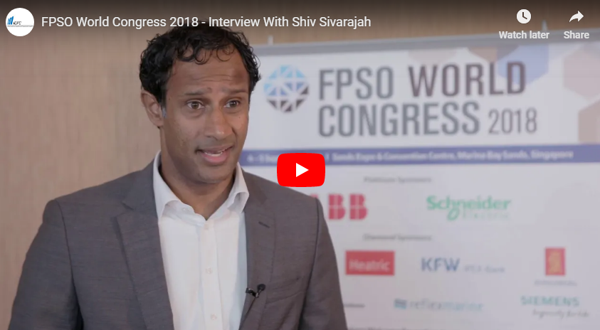 FPSO World Congress 2018 - Interview With Shiv Sivarajah From ING Asia