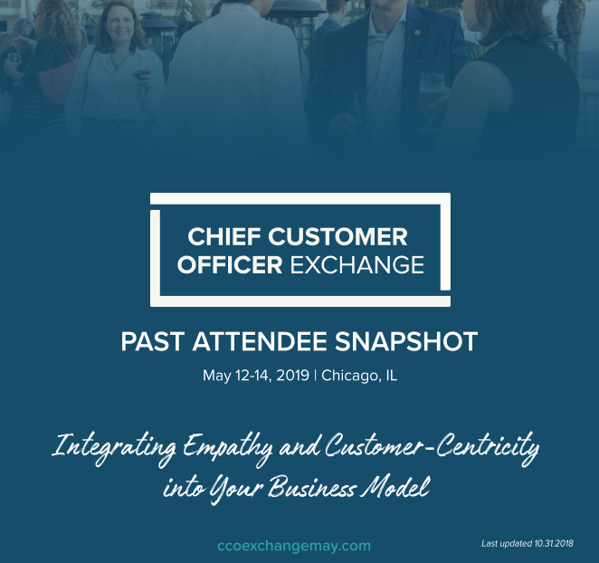 Chief Customer Officer Exchange Attended Companies