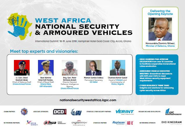 West Africa National Security & Armoured Vehicles 2018 Agenda