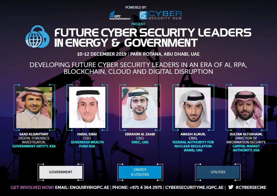 Future Cyber Security Leaders in Energy & Government - Brochure