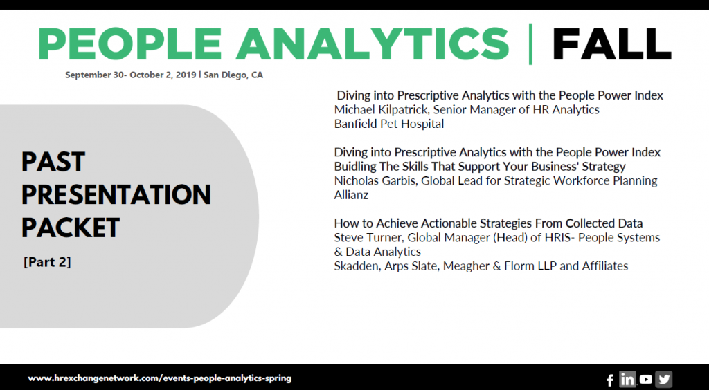Insights from On-Site - People Analytics - Part 2