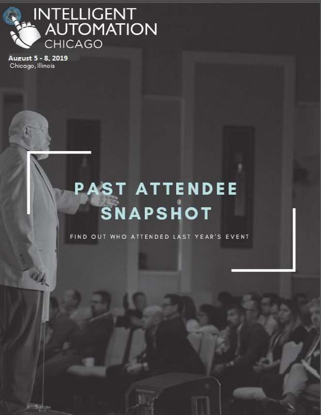 Intelligent Automation Week Past Attendee Snapshot