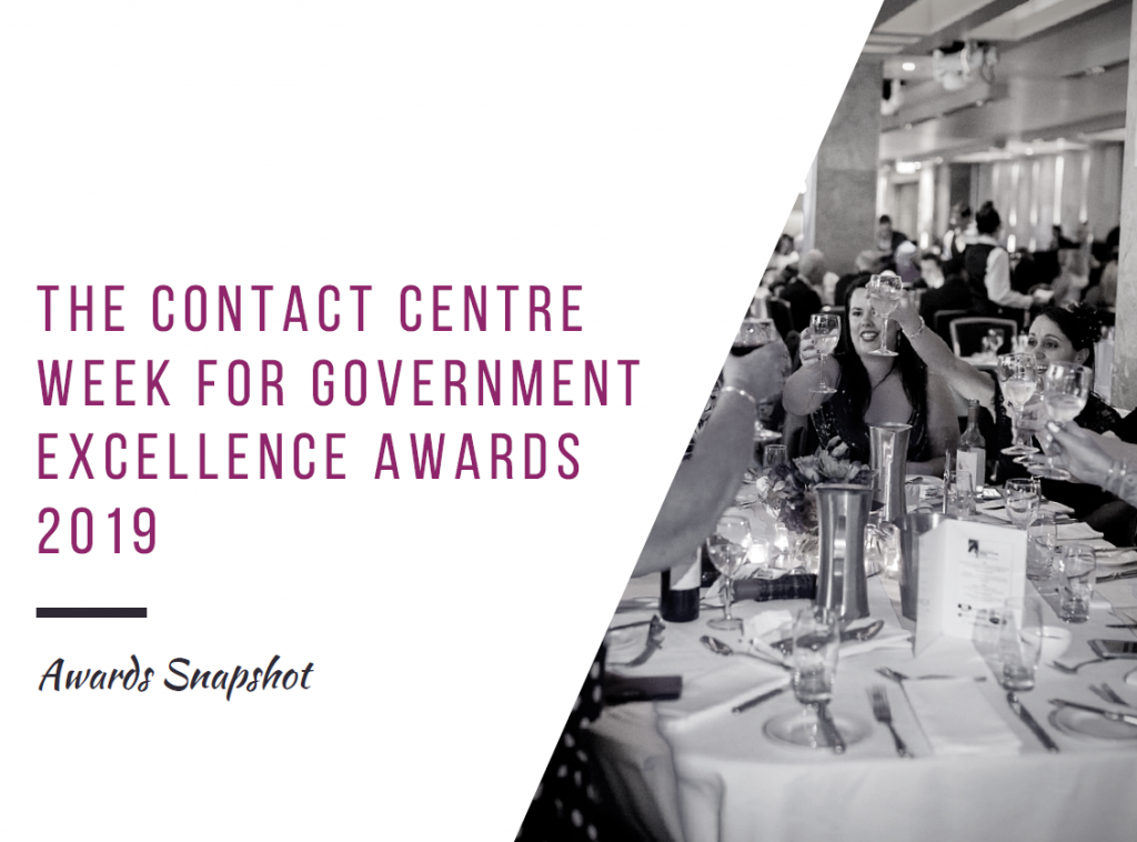 The Gov CC Excellence Awards Snapshot