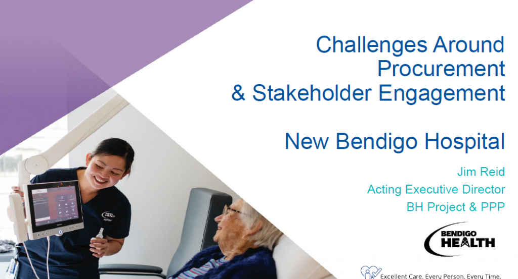 Challenges Around Procurement & Stakeholder Engagement at the New Bendigo Hospital