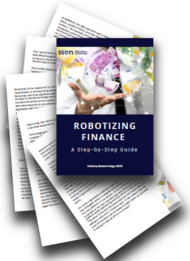 Robotizing Finance - A step-by-step guide
