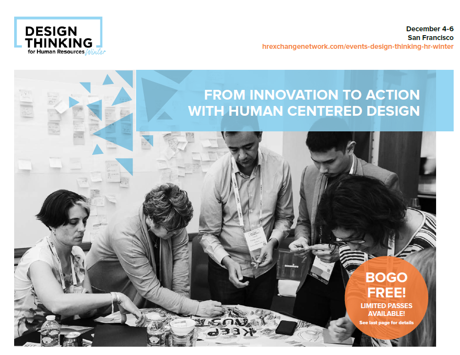 Design Thinking for HR - Winter Agenda