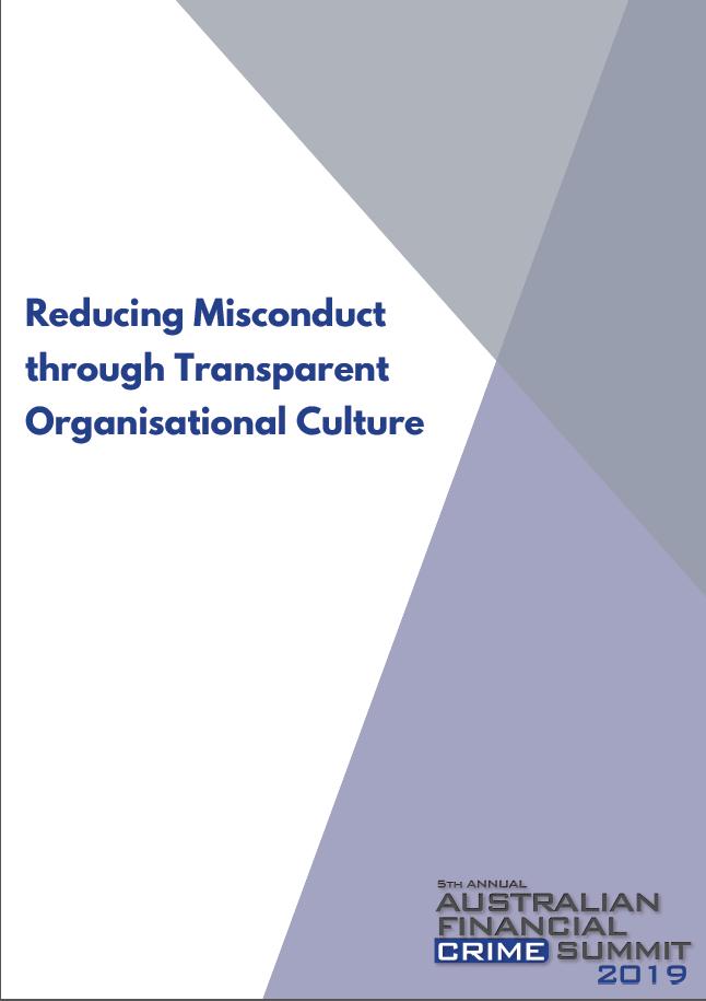 Reducing Misconduct through Transparent Organisational Culture