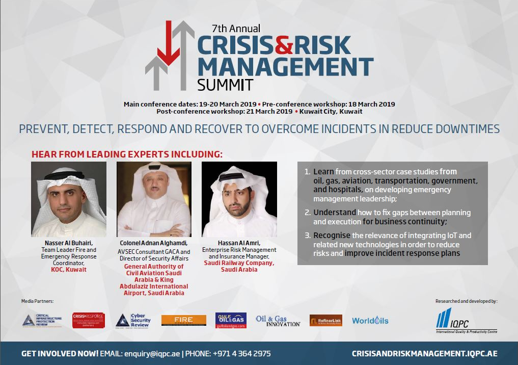 Brochure 7th Annual Crisis & Risk Management Summit