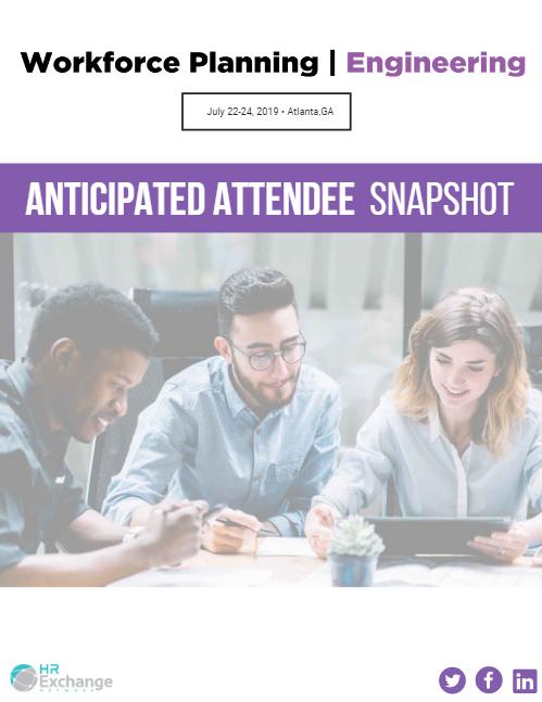 Anticipated Attendee Snapshot
