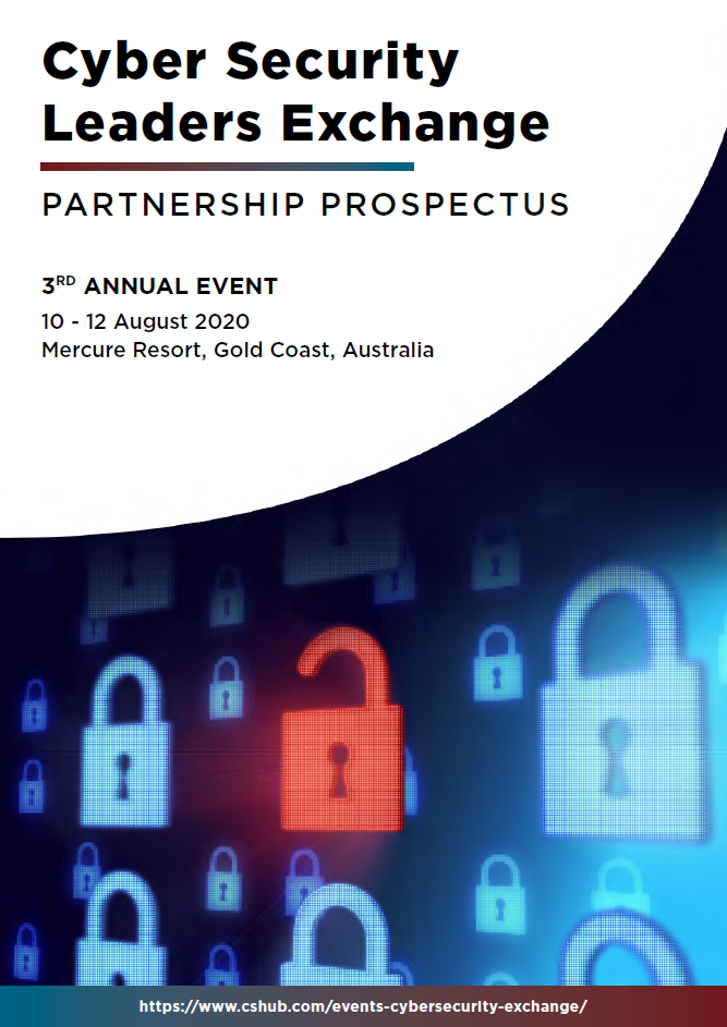 Cyber Security Leaders Exchange 2020 - Partnership Prospectus