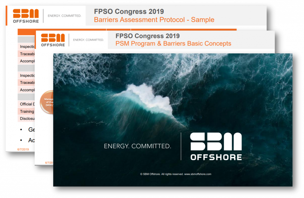 Adopting Process Safety Barriers Assessment in FPSOs - An SBM Offshore Case Study