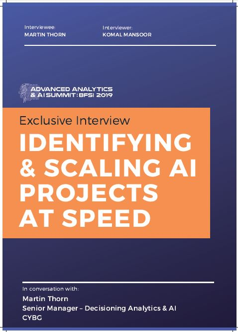 EXCLUSIVE INTERVIEW - Identifying and Scaling AI Projects At Speed
