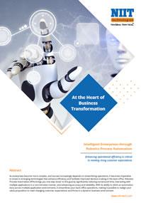 Intelligent enterprises through robotics process automation
