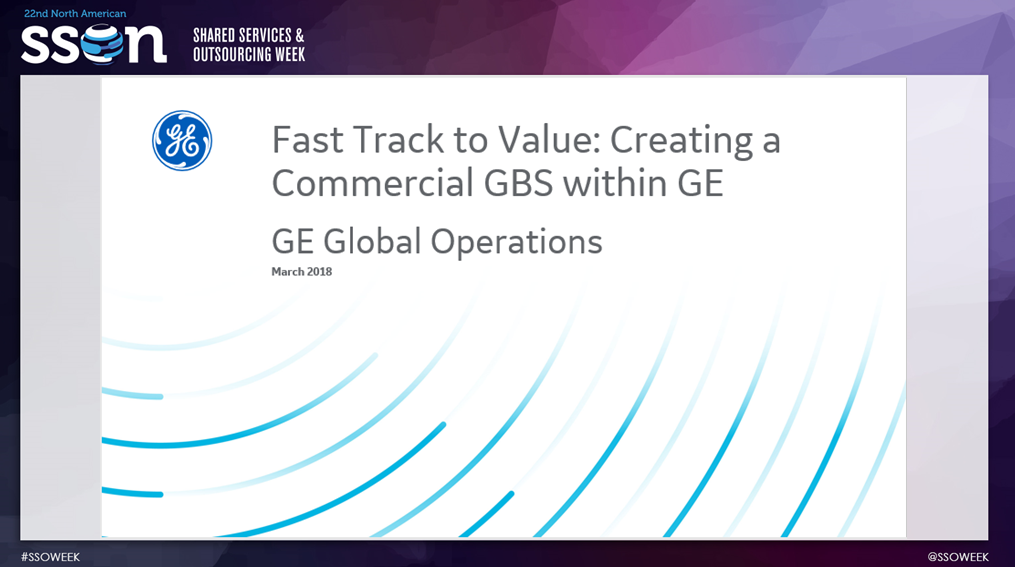 Fast-Track to Value: Creating a Commercial GBS with GE