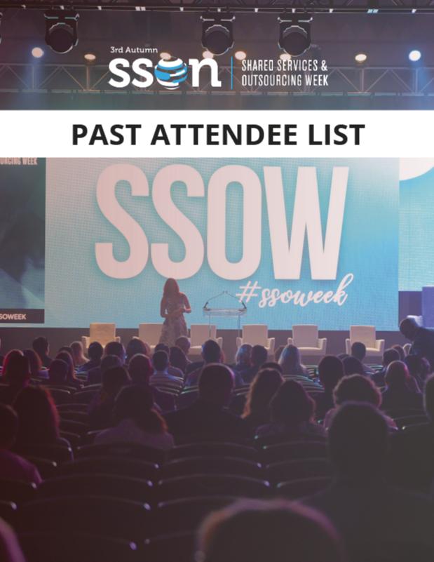 SSOW Autumn 2019: Past Attendee List for Sponsorship