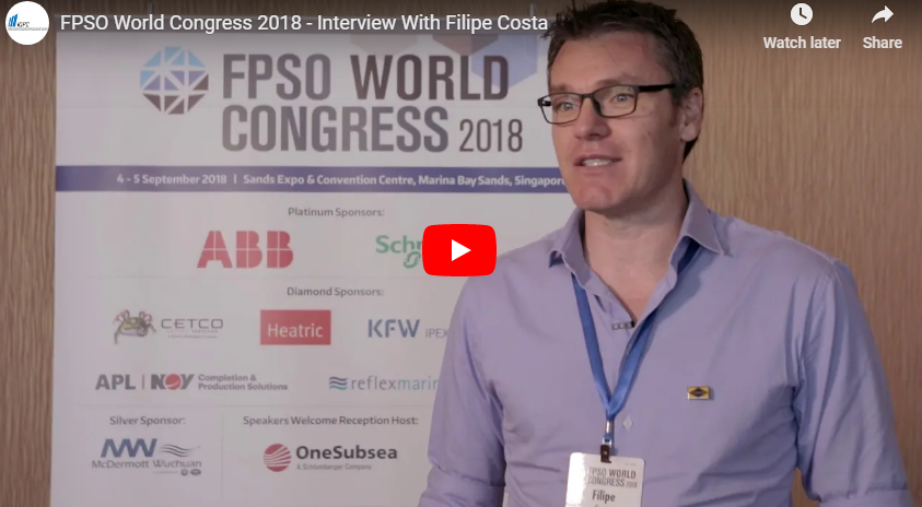 FPSO World Congress 2018 - Interview With Filipe Costa From Yinson Production
