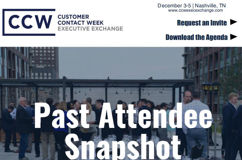 CCW Executive Exchange Attendee Profile