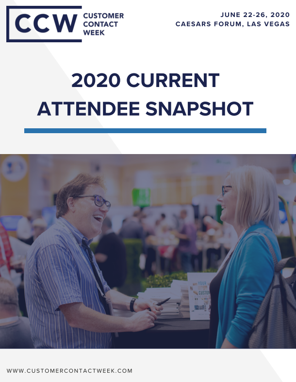 2020 Current Attendee Snapshot | CCW Vegas