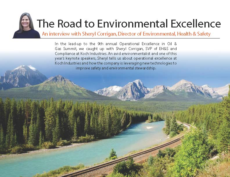 The Road To Environmental Excellence
